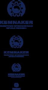bahan konsep LOGO KEMENTERIAN KETENAGAKERJAAN REPUBLIK INDONESIA-23